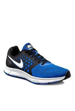 Nike Zoom Span Blue & Black Running Shoes
