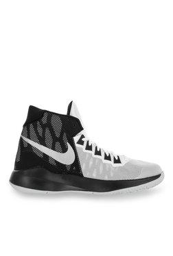Nike Zoom Devosion White Black Basketball Shoes