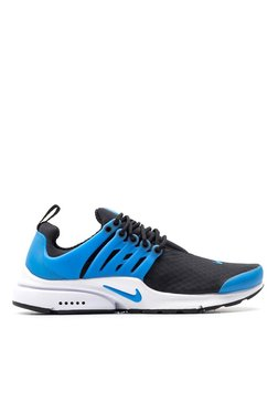 Nike Air Presto Essential Black & Blue Running Shoes