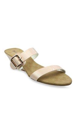 Inc.5 Pastel Pink Wedge Heeled Sandals