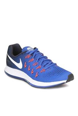 Nike Air Zoom Pegasus 33 Royal Blue Running Shoes