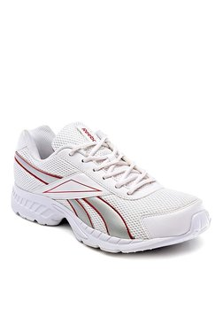 new styles 8c603 07897 Reebok Acciomax White Running Shoes