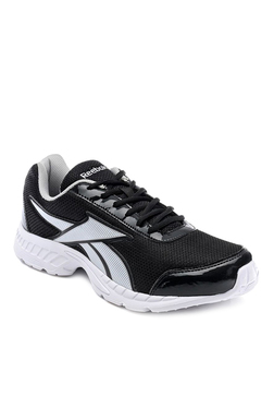 Reebok Black  White Running Shoes