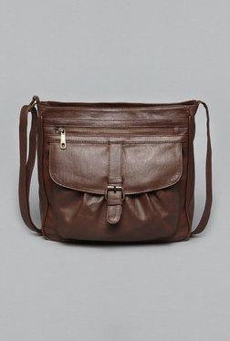 Westside Brown Weekender Sling Bag