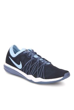 Nike Dual Fusion Hit Navy Blue Training Shoes