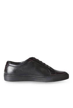 Van Heusen Black Casual Sneakers