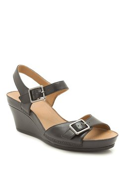 2804c51e26467 Clarks Rusty Art Tan Wedges for women - Get stylish shoes for Every ...