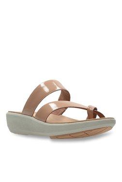 ac3d200fd72d Clarks Wave Glitz Orange Sandals for women - Get stylish shoes for ...