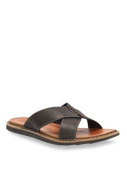 5d321b5d7 Clarks Lynton Black Cross Strap Sandals
