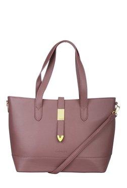 Caprese Nadia Dusty Rose Solid Shoulder Bag
