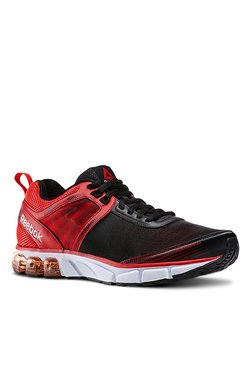 7012203dc4adf9 Reebok Black   Red Running Shoes