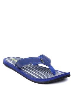 5a3ac0cb7 Reebok Royal Blue   White Flip Flops