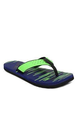 5b5029826 Reebok Green   Navy Flip Flops