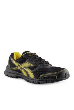 017c099d7 Reebok Black   Yellow Running Shoes