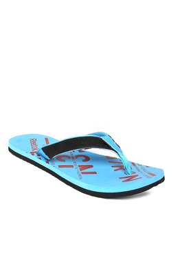 Reebok Black   Blue Flip Flops 615081917