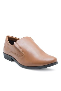 Bond Street By Red Tape Tan Formal Slip-Ons - Mp000000001735390