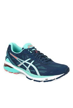 Asics GT-1000 5 Navy & Turquoise Running Shoes