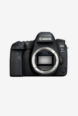 Canon EOS 6D Mark II 26.2 MP DSLR Camera (Body Only) (Black)
