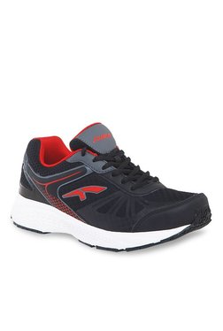 Furo By Red Chief Black & Red Running Shoes