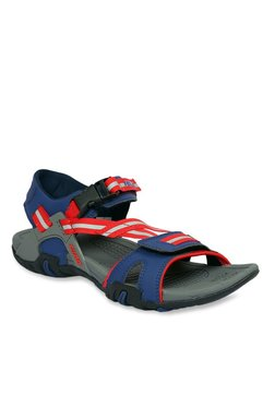 Furo By Red Chief Navy & Red Floater Sandal