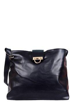 Lino Perros Black Solid Shoulder Bag - Mp000000001754660