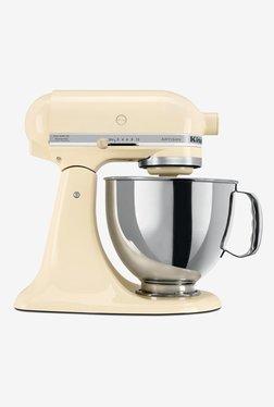 KitchenAid Artisan Design 5KSM150PSBAC 300W 1 Jar Stand Mixer Grinder (Beige)