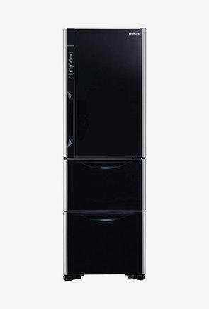 Hitachi R-SG37BPND-GBK 390L Triple door Refrigerator (Black)