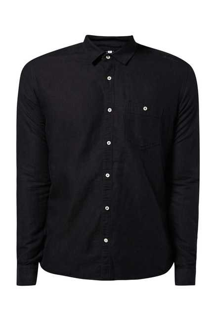Killer Black Linen Shirt