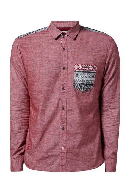 Killer Paprika Cotton Shirt