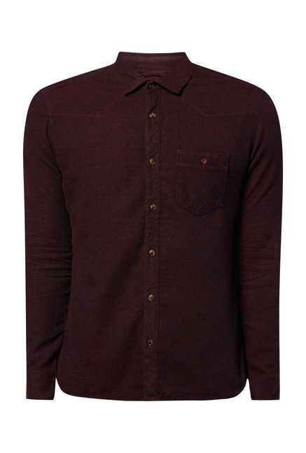 Killer Plum Dobby Shirt