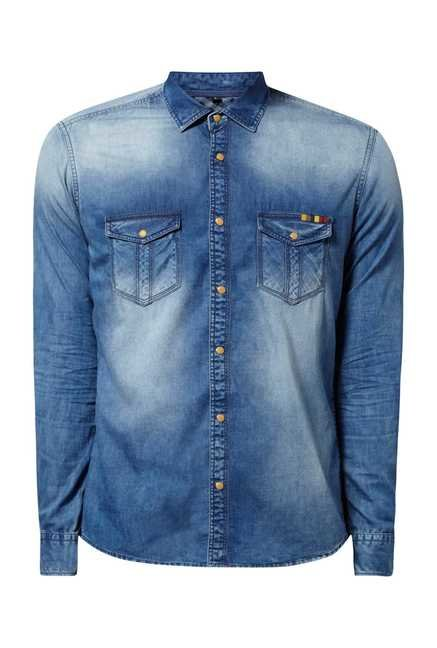 Killer Ice Indigo Long Sleeve Shirt