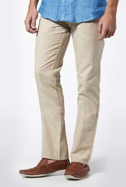 Easies Natural Casual Trousers