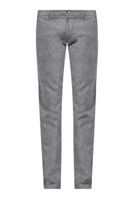 Easies Grey Casual Trousers