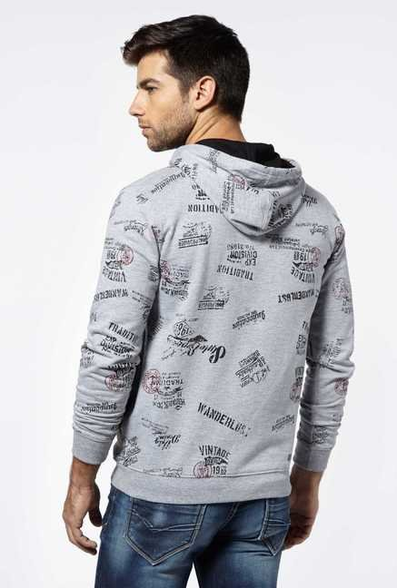 Killer Grey Melange Sweatshirt