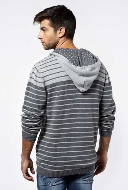 Killer Grey Hooded Sweatshirt
