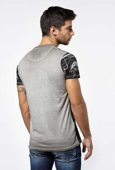 Killer Ecru Forcett Printed T-Shirt