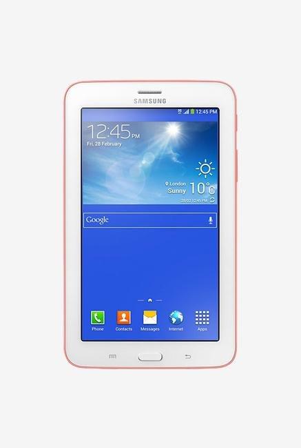 samsung 7 inch tablet. samsung galaxy tab 3 neo 7-inch 8gb tablet (pink) 7 inch