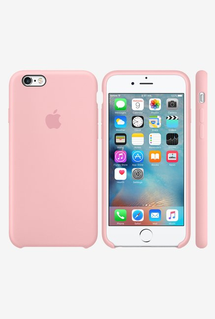 Apple iPhone 6 Silicone Back Case (Pink)