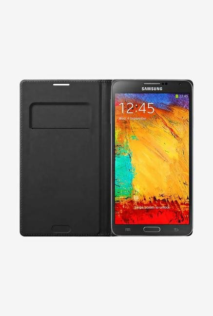 Samsung Note 3 Flip Cover Black