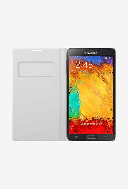 Samsung Note 3 Flip Cover White