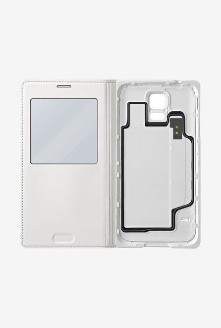 Samsung EF-CG900BWEGIN Mobile Flip Cover White