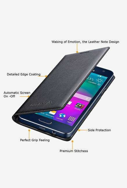 Samsung EF-FA300BCEGIN Mobile Flip Cover Grey