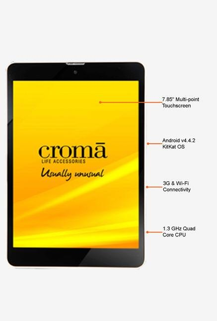 Croma CRXT1131 7.85-inch 16GB 3G Tablet (White)