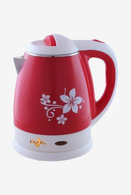 Chef Pro CCK862 1.2 Litres Electric Kettle (Red)