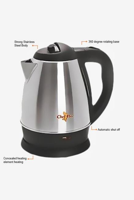 Chef Pro CSK812 1.2 Litres Electric Kettle (Silver)