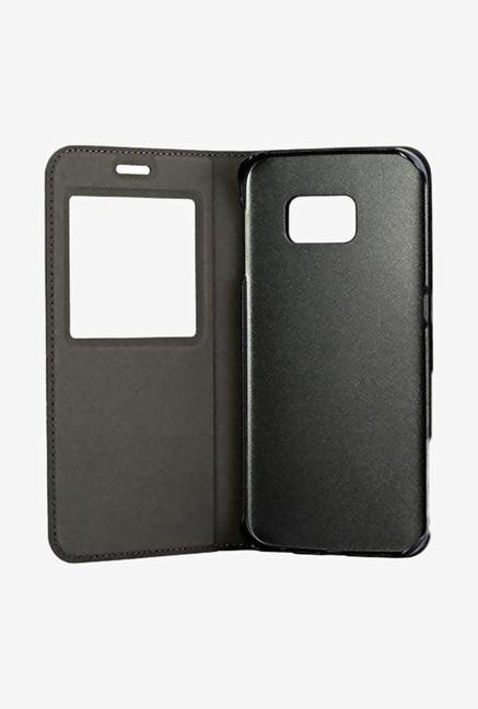 Stuffcool BRVSGS6 Flip Cover for Samsung Galaxy S6 Black