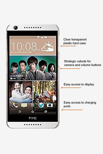 Stuffcool CLHC626 Back Case for HTC Desire 626 Clear