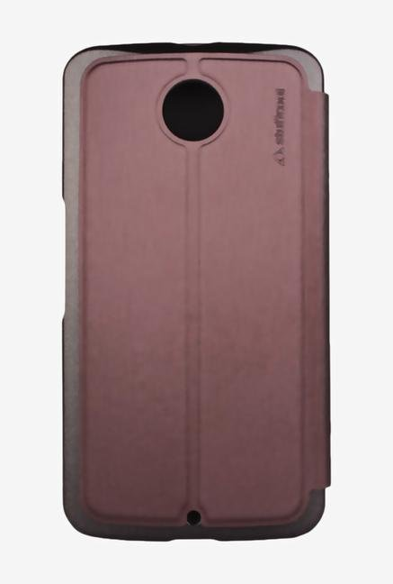 Stuffcool CRMTNX6 Flip Cover for Nexus 6 Brown