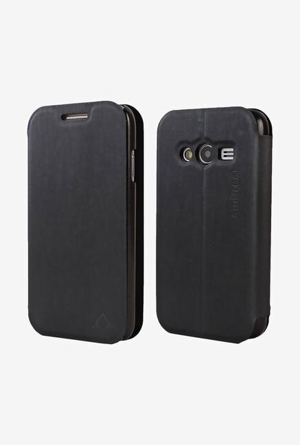"""Stuffcool LCFSG3313 Flip Cover for Samsung Galaxy S (Black) """