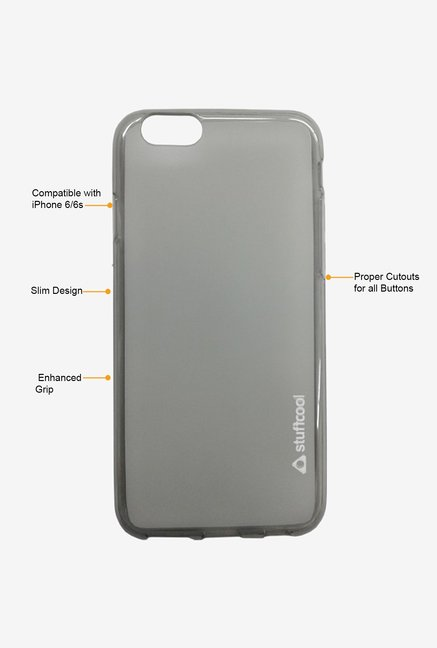 Stuffcool Lisse LSIP647-TGRY Mobile Case Tinted Grey